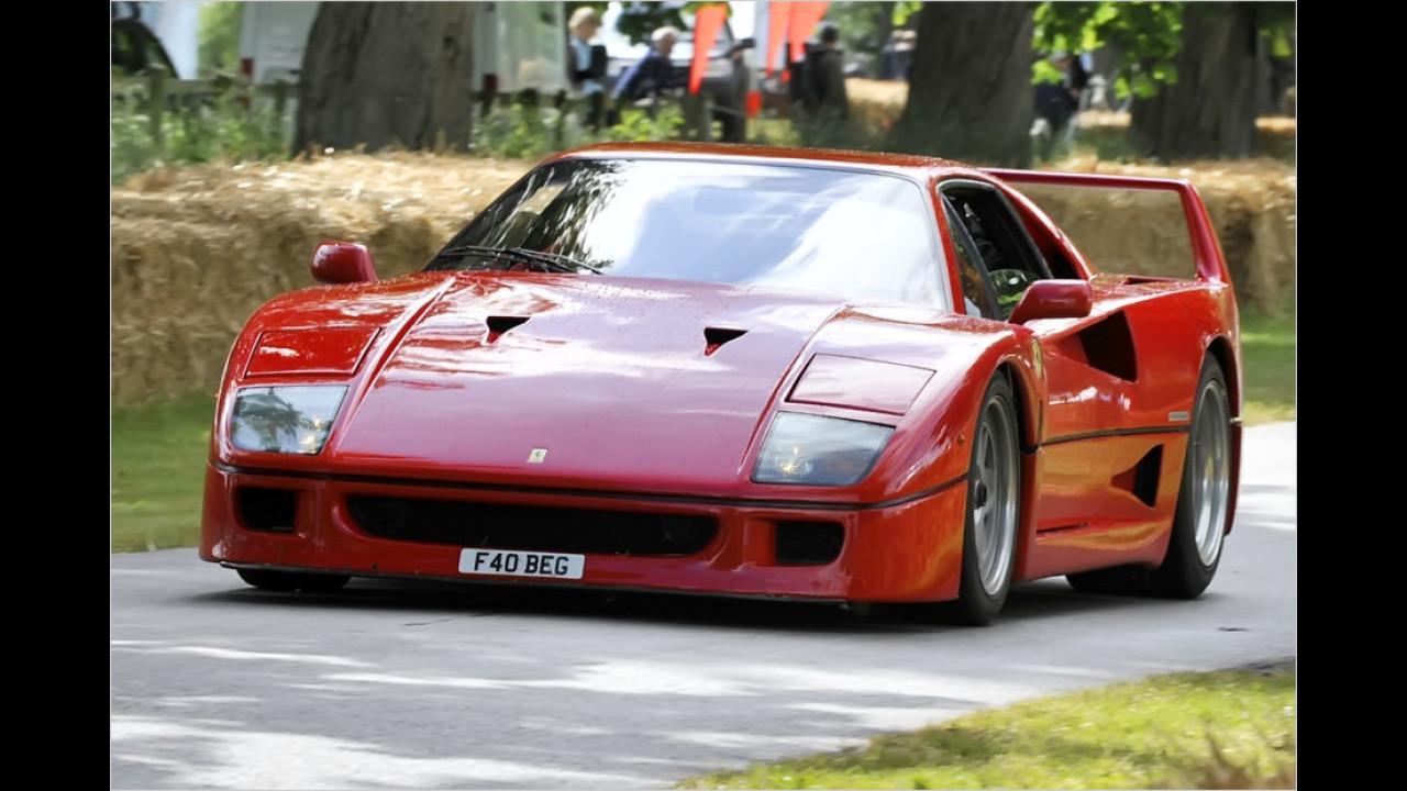 Ferrari F40: Nur noch 60 Sekunden (2000)