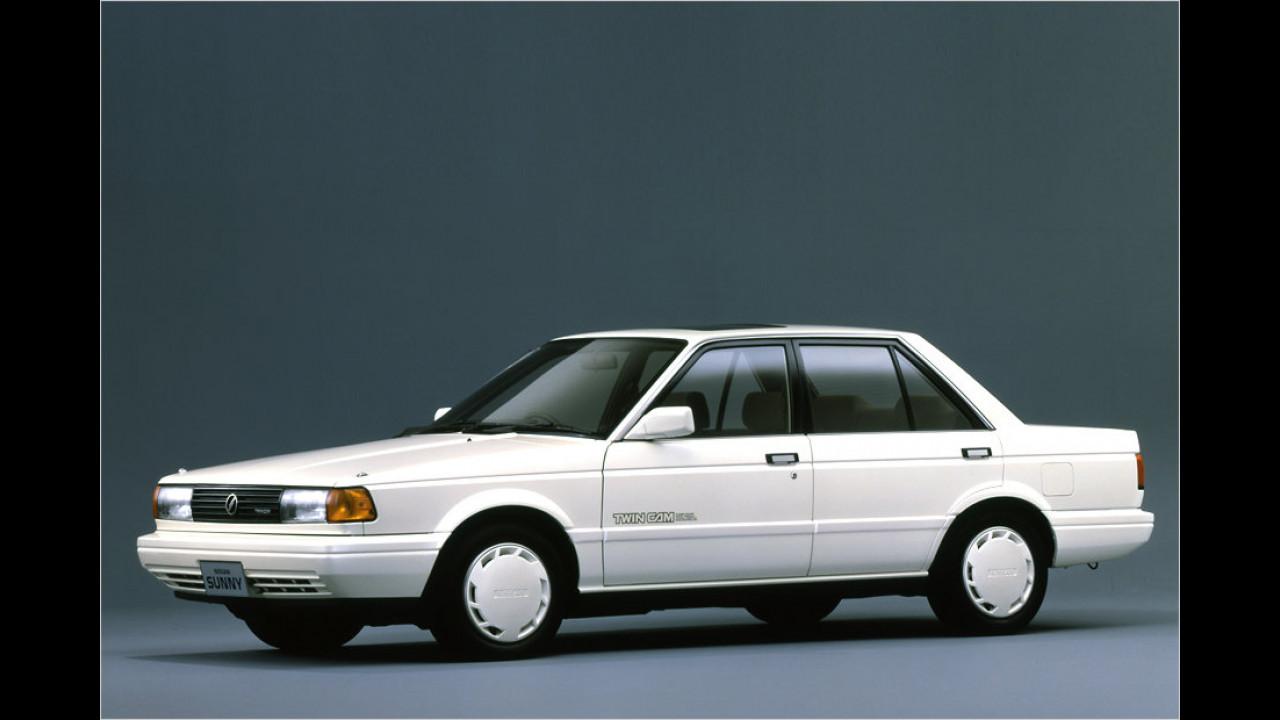 Nissan Sunny/Almera: 16 Millionen (1966 bis 2004)