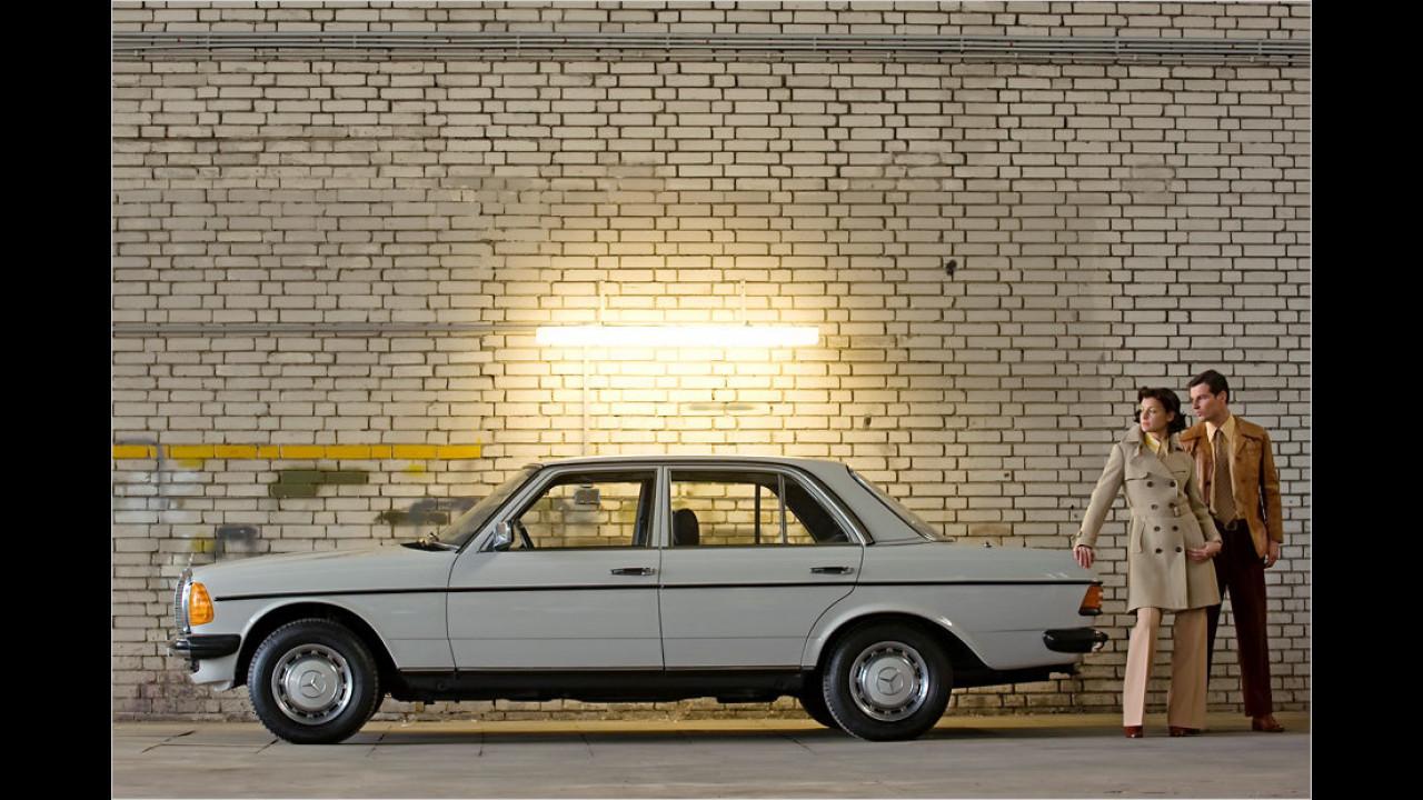 Platz 4: Mercedes W 123