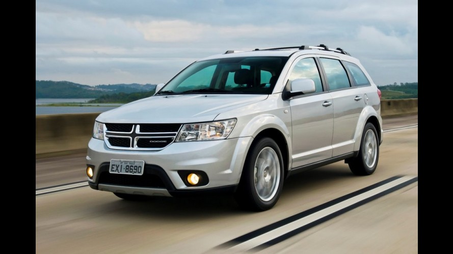 Novo Dodge Journey 2012 chega oficialmente custando a partir de R$ 97.500