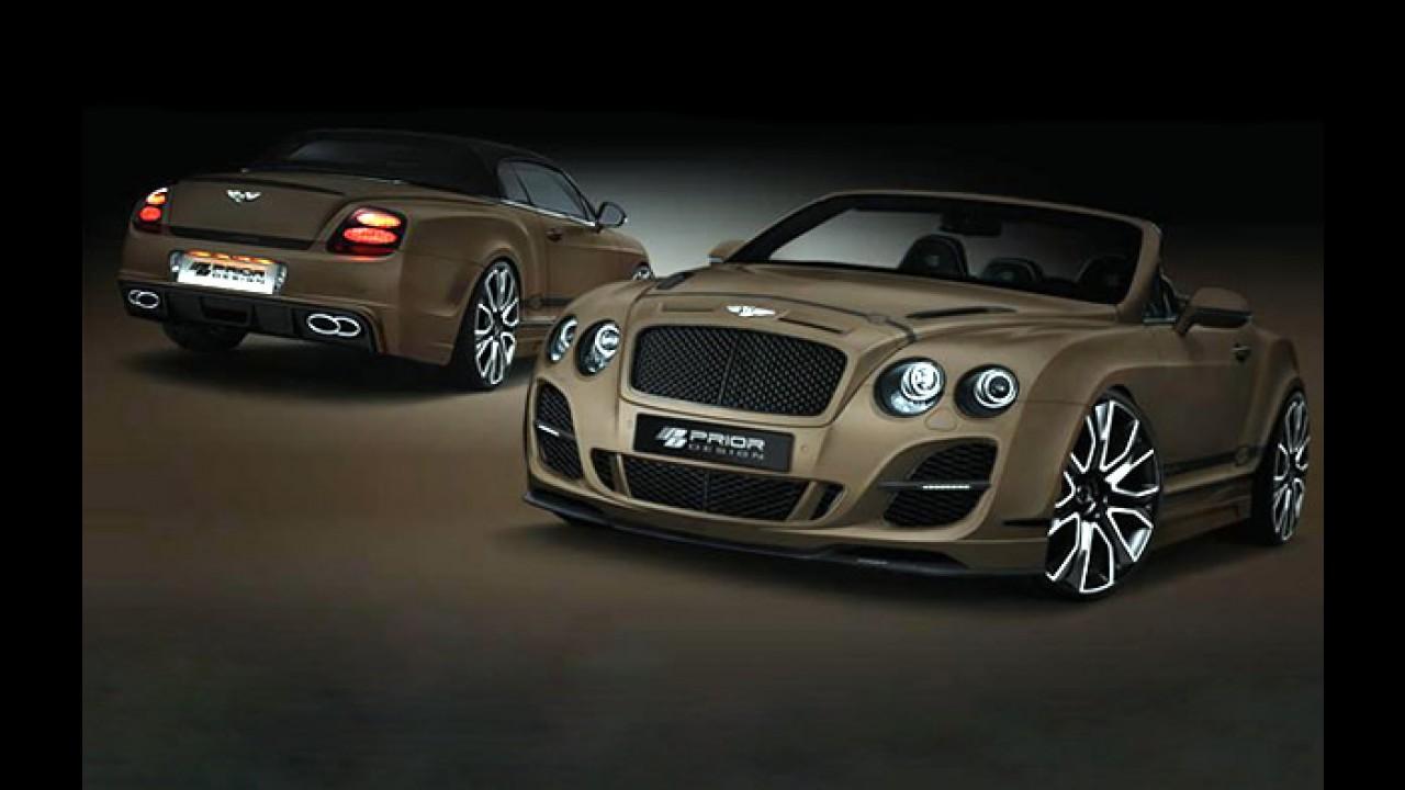 Bentley Continental GTC Cabriolet ganha preparação na Alemanha