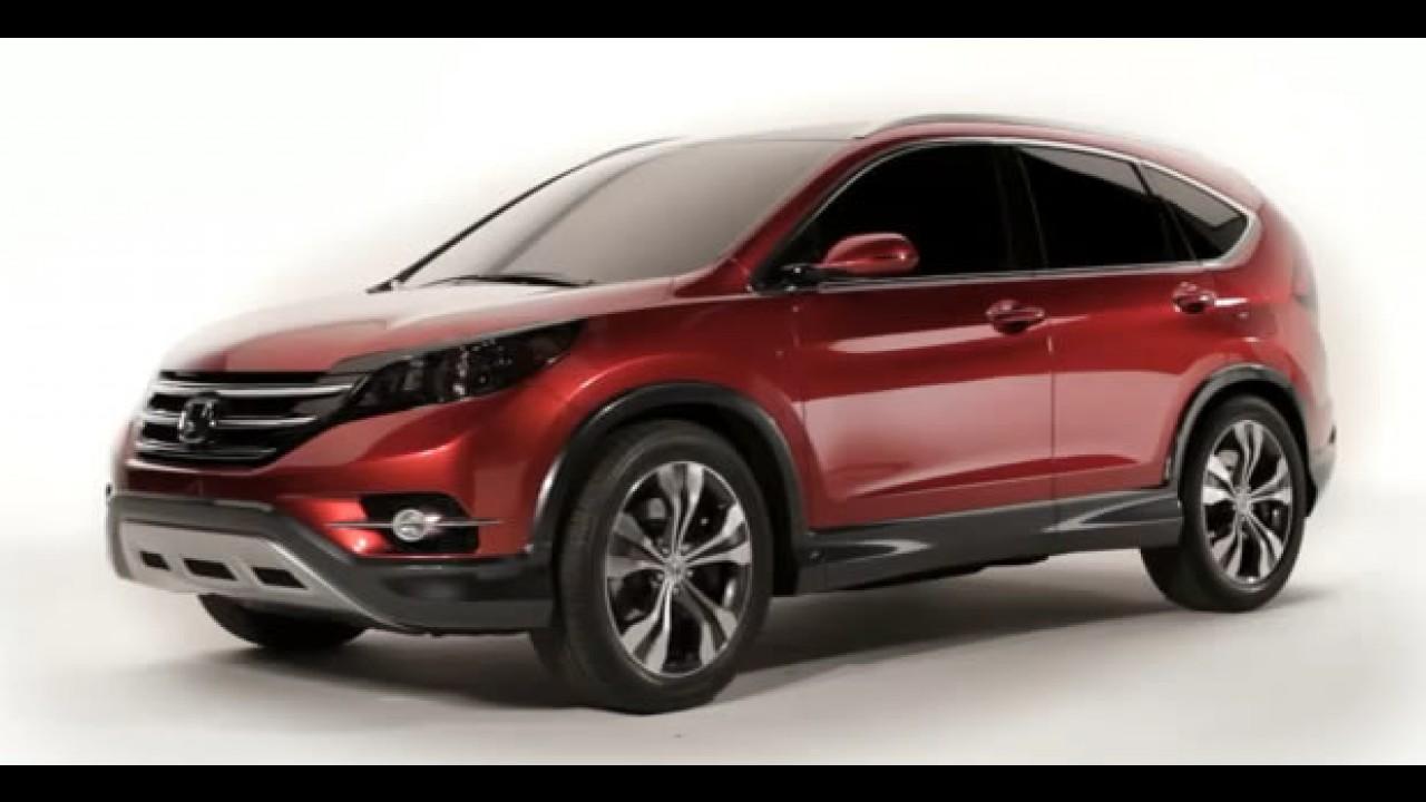VÍDEO mostra detalhes do Honda CR-V Concept por todos os ângulos