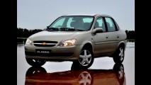 Brasil, resultados de novembro: Corsa Sedan lidera e Siena passa 100 mil unidades em 2010