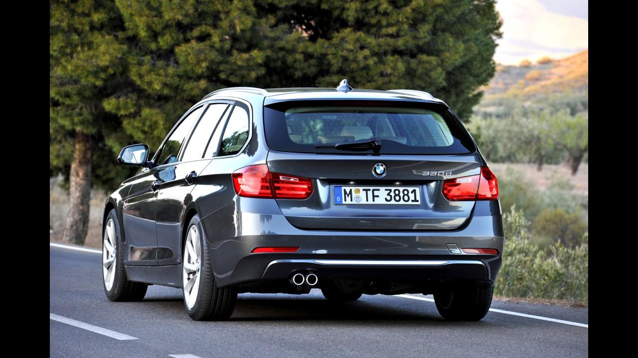 Oficial: BMW divulga primeiras imagens da nova geração da perua Série 3 Touring