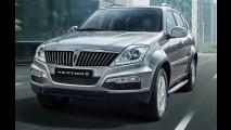SsangYong mostra SUV Rexton reestilizado na Coreia do Sul