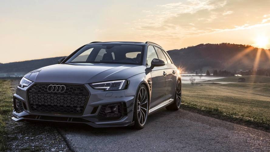 Audi RS4-R By ABT Poses For A Very Talented Photographer