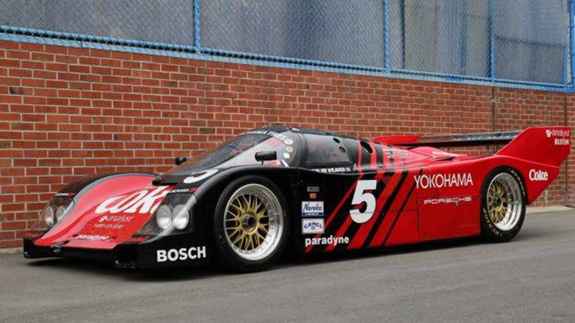 1987 Porsche 962 Race Car Needs New Owner Willing To Pay $1.27M