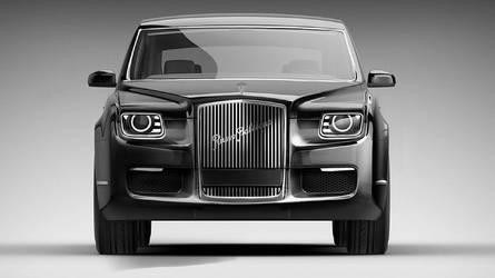 Voici la nouvelle voiture de Poutine !