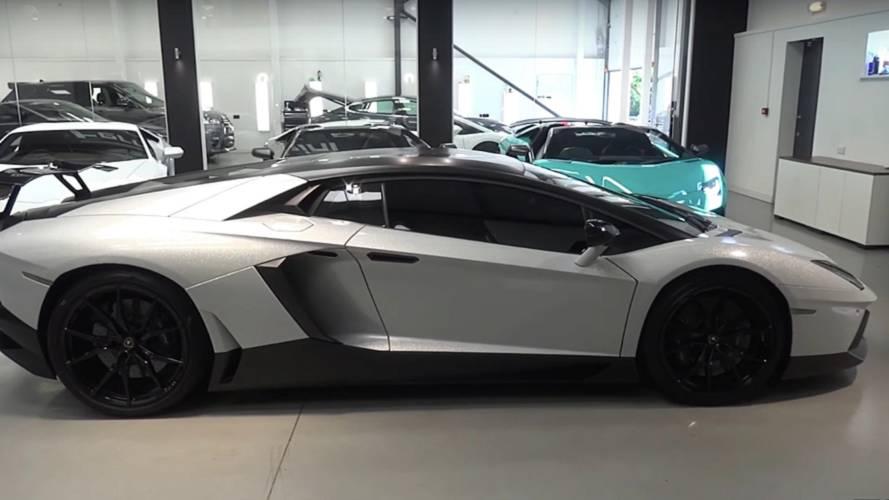 Lamborghini Aventador Gets Starlight Headliner Because Why Not