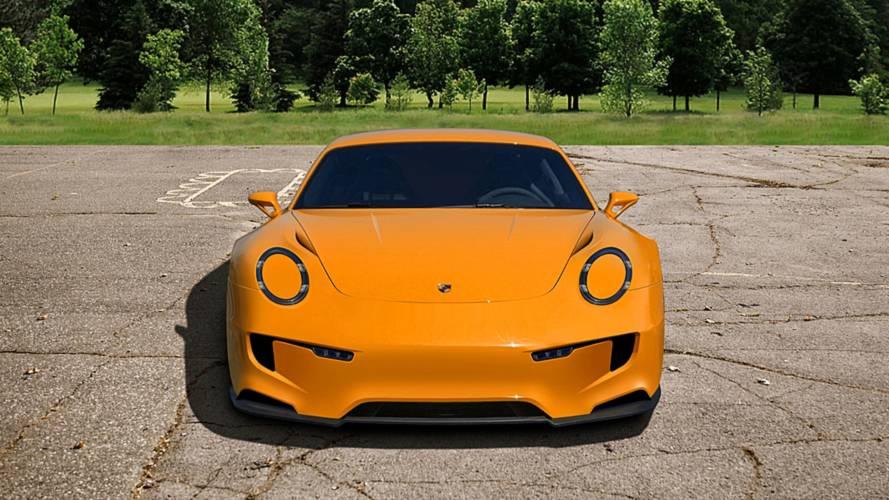 Porsche 911 Mission E Concept