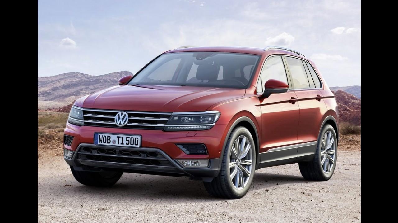 Novo VW Tiguan: veja como deve ficar a versão de sete lugares - projeção