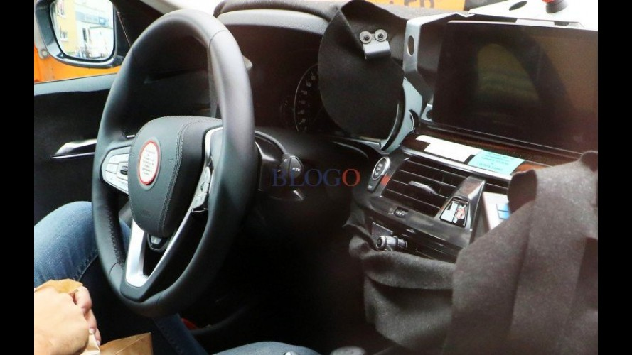 Flagra: BMW Série 5 2016 tem as primeiras fotos do interior reveladas