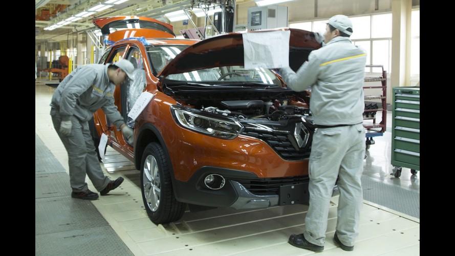 Renault inaugura primeira fábrica na China com produção do Kadjar