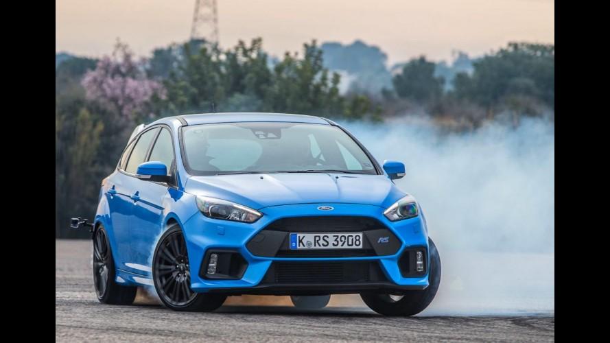 Modo drift do Focus RS foi algo criado