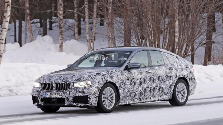 Photos espion - La nouvelle BMW Série 6 GT surprise sur la neige