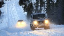 2018 Mercedes G-Class and G63 spy photo