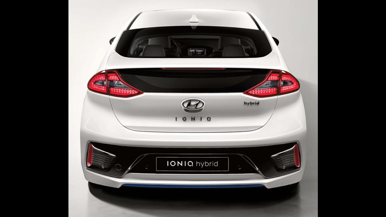 """""""Prius coreano"""", Hyundai Ioniq é revelado por completo - veja fotos e vídeo"""