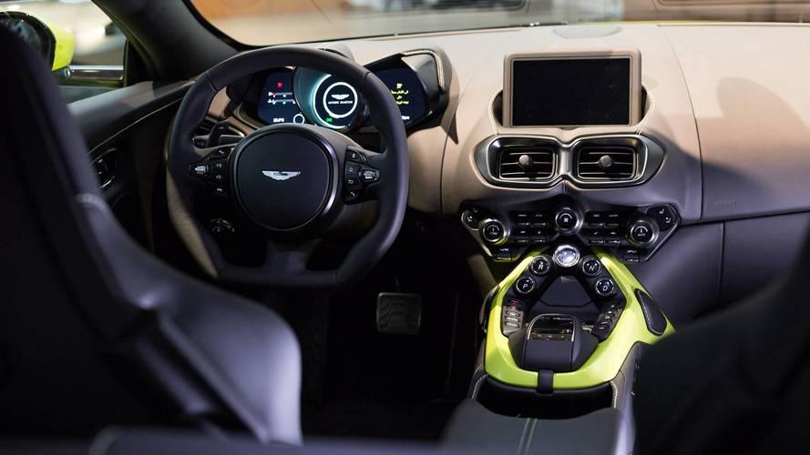 Aston Martin Vantage GTE race vehicle revealed