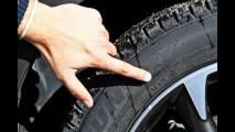 9. Controllare simbolo sul fianco degli pneumatici invernali