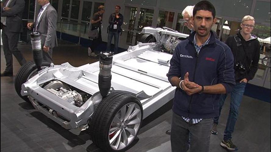 Salone di Francoforte, Tesla Model S presente più che mai [VIDEO]