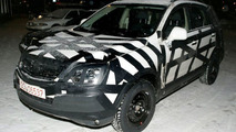 Opel Antara Spy Photos