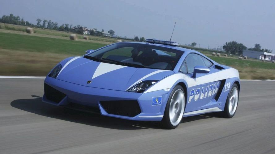 Lamborghini Donates Gallardo LP560-4 to Italian Police