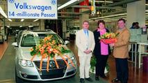 14 million VW Passat Produced