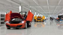McLaren Production Centre Ouverture