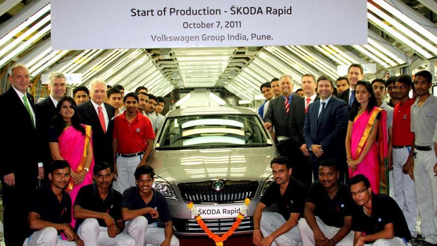 Skoda Rapid goes into production