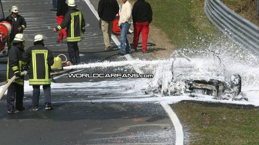 SPY PHOTOS: Audi RS 8 on Fire