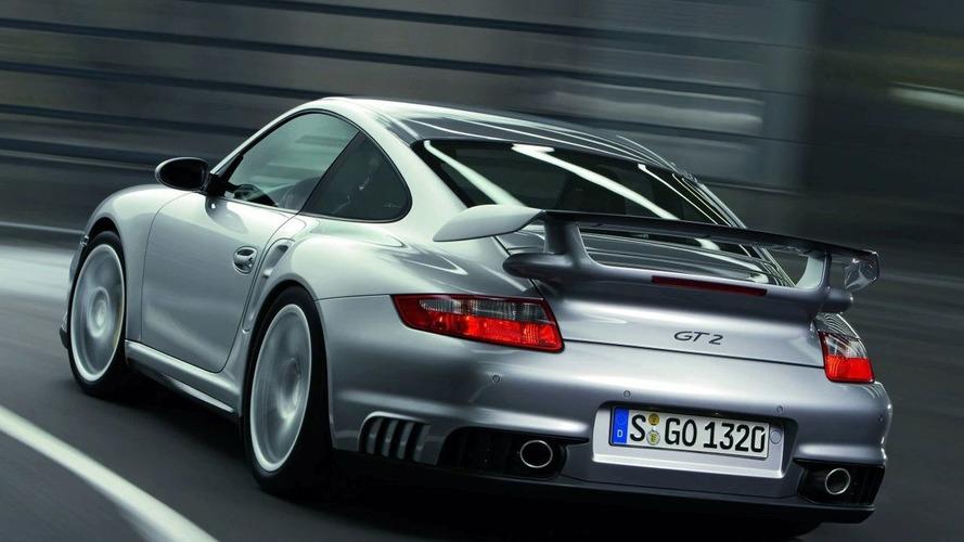 New Porsche 911 GT2 at Frankfurt