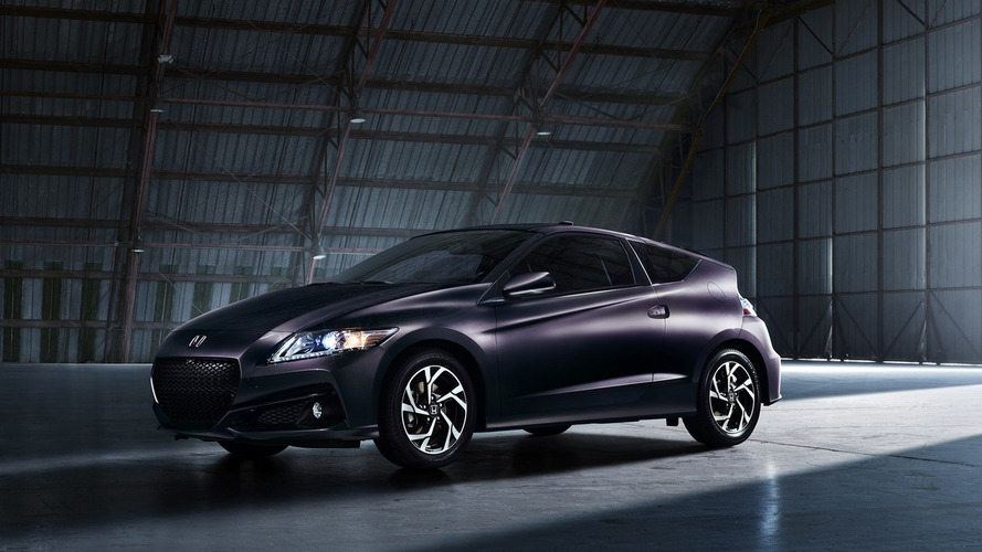 Honda CR-Z soldiers on for 2016MY with subtle cosmetic revisions and new range-topping trim