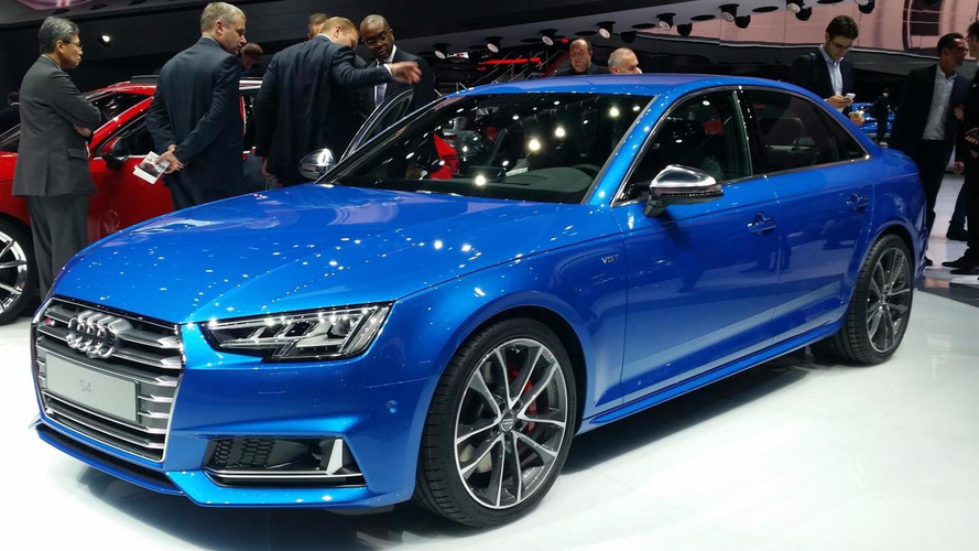 2016 Audi S4 announced in Frankfurt with new V6 3.0 TFSI engine rated at 354 PS