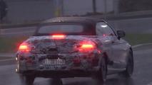 Mercedes-Benz C-Class Convertible screenshot from spy video