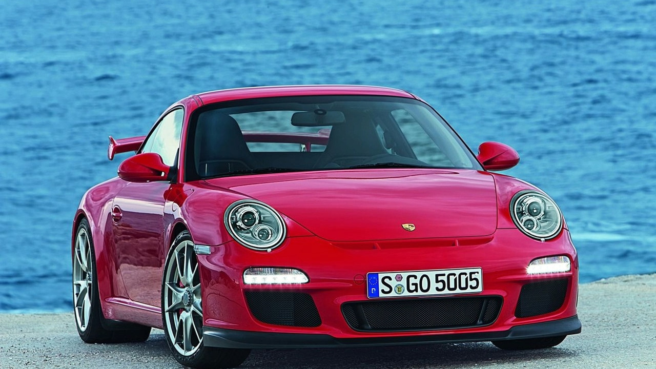New Porsche 911 GT3 facelift 2010