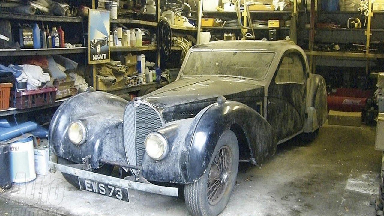 1937 Bugatti Type 57S Found in Garage