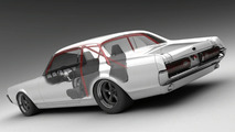 Vizualtech Recreates a 1968 Mercury Cougar via 3D Rendering
