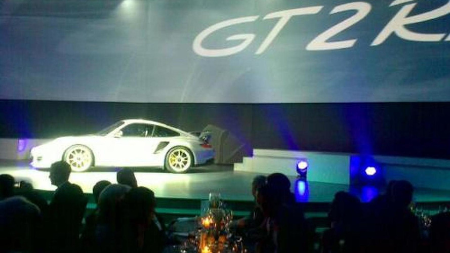Porsche 911 GT2 RS breaks out early