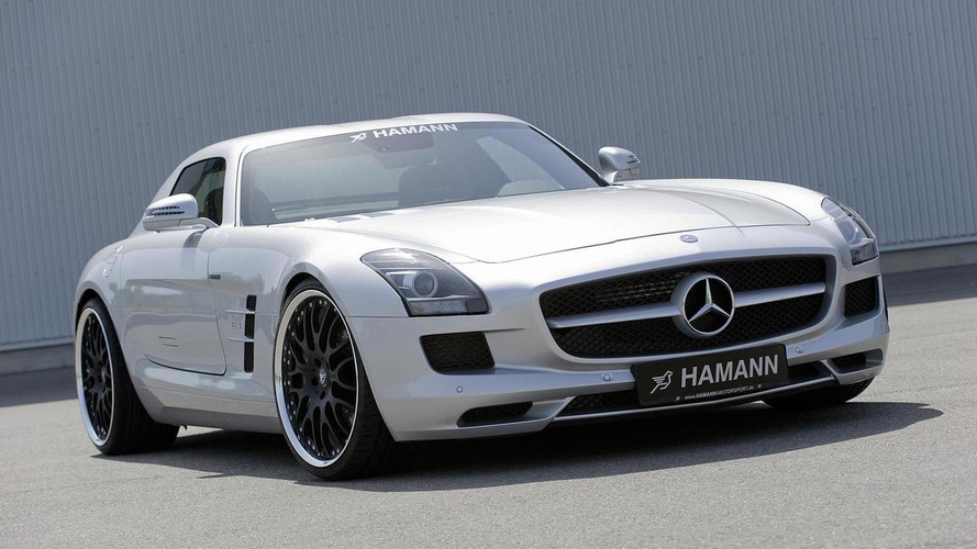 Hamann adds first bolt-on parts for Mercedes SLS AMG