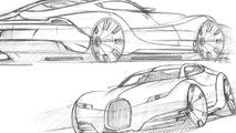 Morgan EvaGT design sketch, 24.08.2010