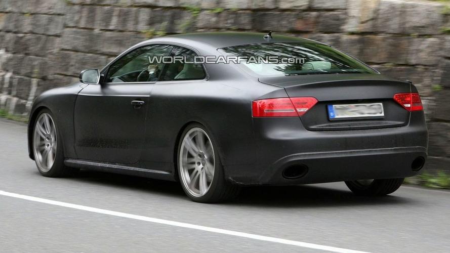 Audi RS5 Latest Spy Photos