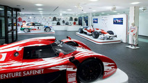 Main reception of Toyota Motorsport's technical centre, Cologne, Germany
