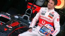 Jenson Button (GBR), McLaren Mercedes - Formula 1 Testing, Valencia