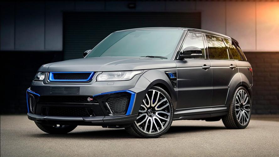 Kahn Design dévergonde le Range Rover Sport SVR