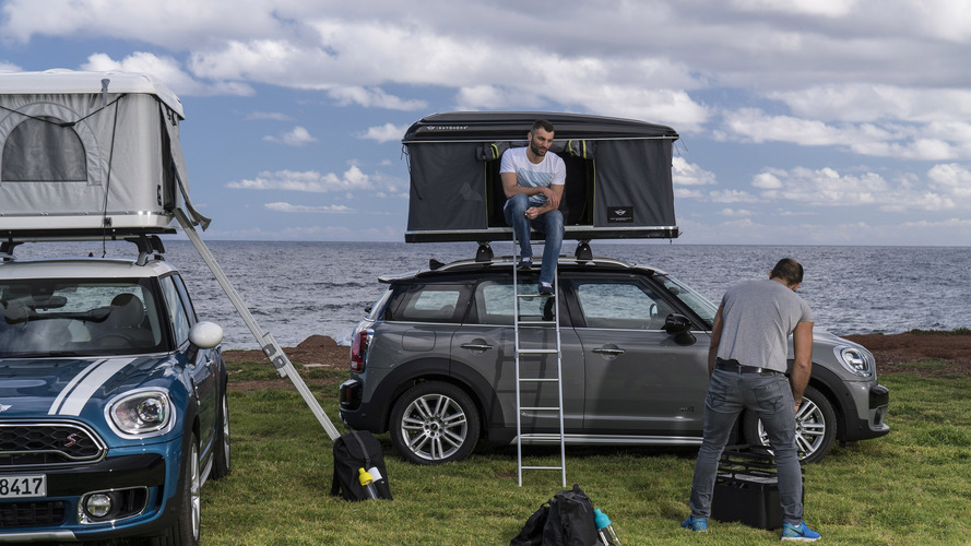 Sleep On Top Of Your Mini Countryman With This Roof Tent