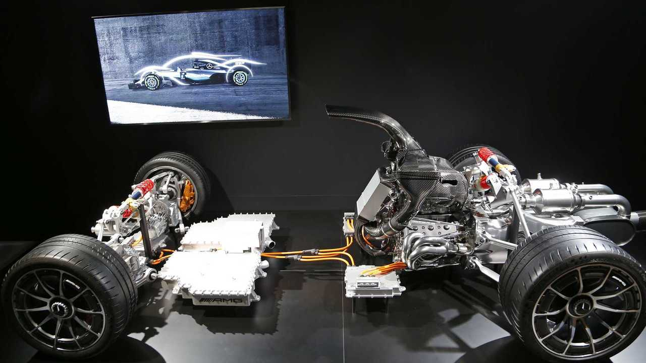 Mercedes amg project one underpinnings photo gallery for Mercedes benz amg project one