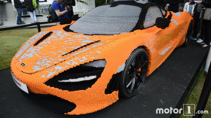 Lego McLaren 720S'in 1 dakikada yapılmasını izleyin