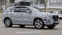 Mercedes GLE 2018, fotos espía