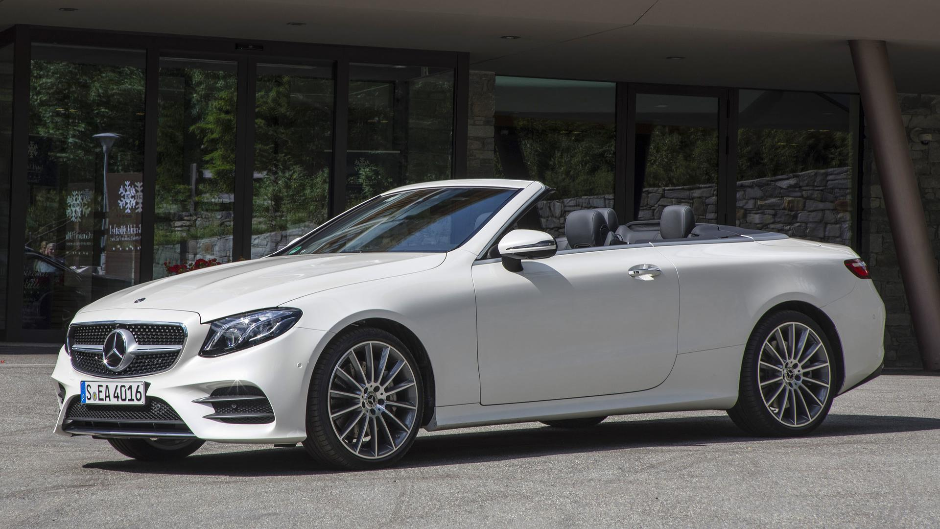 2018 mercedes benz e class cabriolet first drive four for New mercedes benz convertible