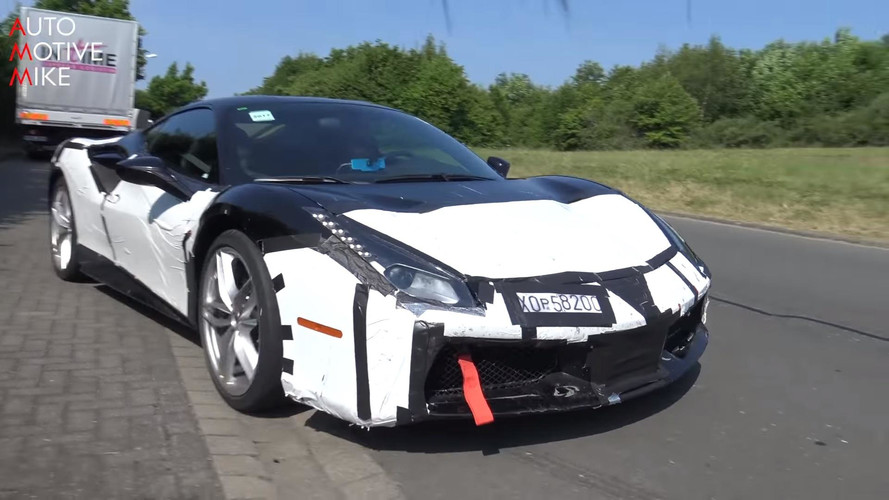 Mysterious Ferrari 488 Spied Near The Nurburgring